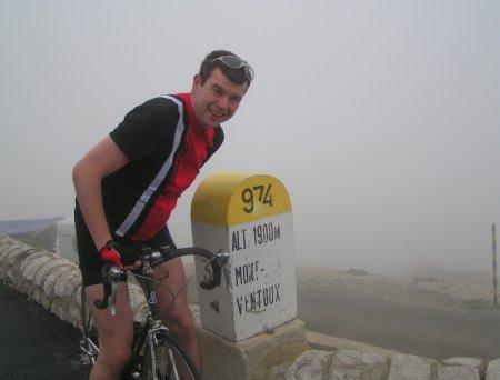 Auf dem Mount Ventoux